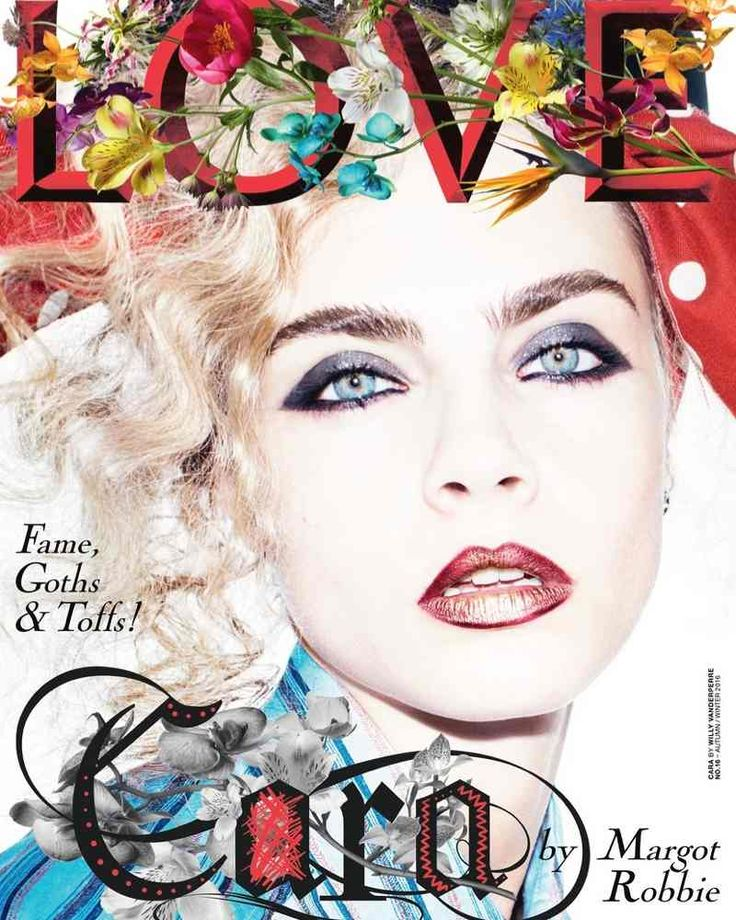 Cara Delevingne by Willy Vanderperre for Love Magazine Autumn/Winter 2016 #fashioncover