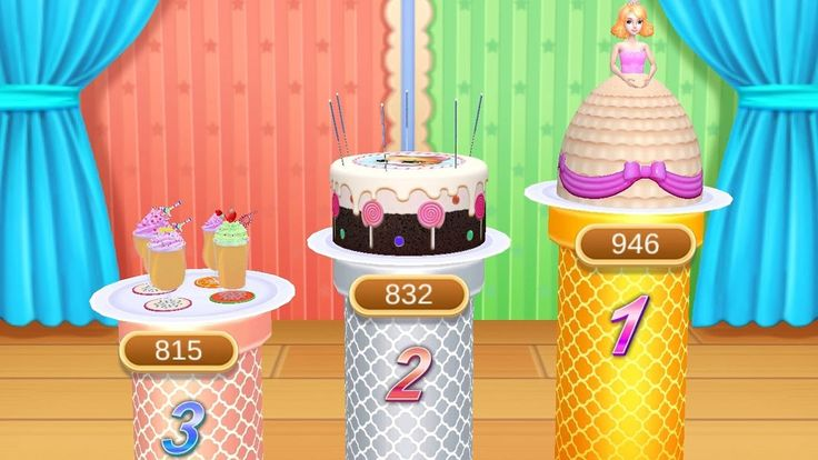 Learn Strawberry Birthday Cake - Real Cakes Maker 3D - Kids Games TV