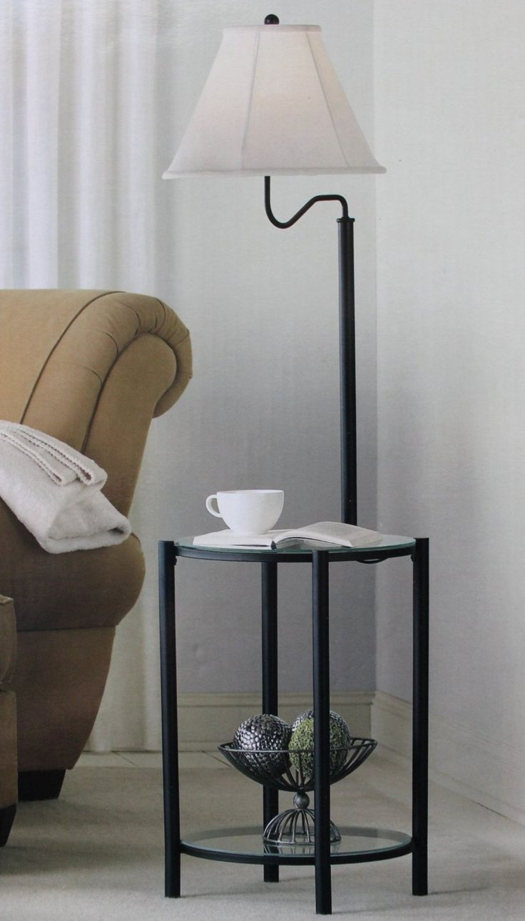 1000 ideas about floor lamp with shelves on pinterest lamps industrial floor lamps and floor. Black Bedroom Furniture Sets. Home Design Ideas