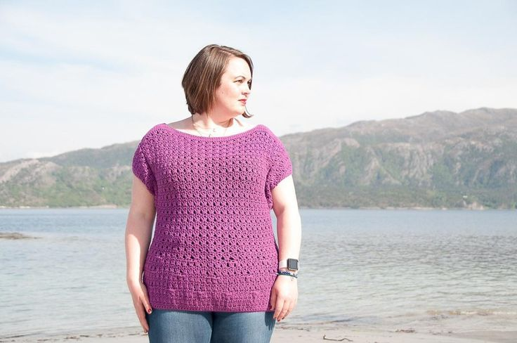 Choro Top Crochet Pattern ★ Crochet pattern for the Choro Top, a oversized crochet top.★ Perfect to wear all summer long.★ XS – XL.★ Skill level: EASY★ Language: English / US crochet terms. The Choro Top Crochet Pattern makes an easy & oversized crochet top. Consequently it can be made as big as you'd like & are perfect for spring & summer. You'll easily stitch it up in just a week, because it don't have any complex stitch variations. Make it longer for your perfect summer tunic dress. With…