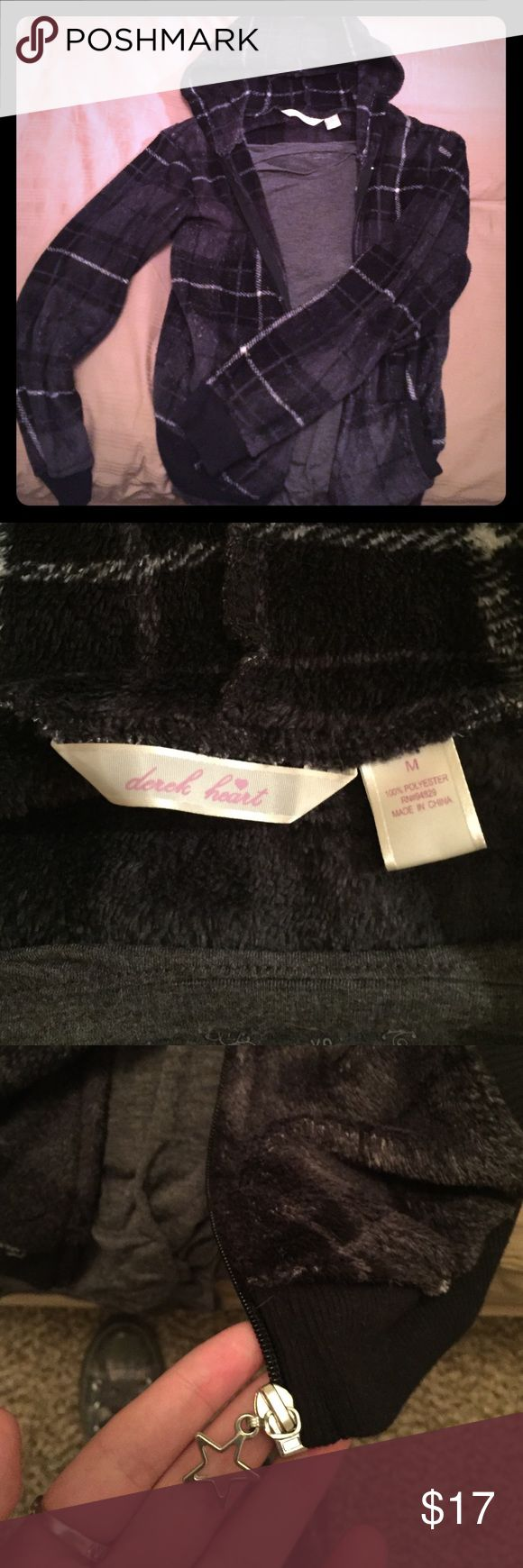 Fleece Plaid Jacket! This jacket is really soft and is in excellent condition! Jackets & Coats