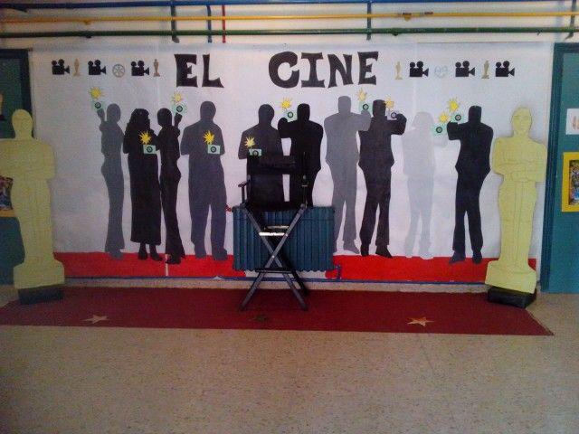 Photocall cine para decoracion