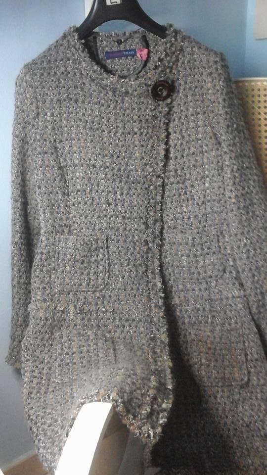 Giacca sciancrata Trussardi jeans taglia 46