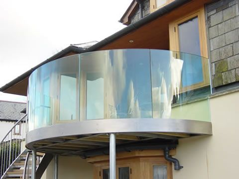 Best Balcony With Curved Glass Interior Ideas Pinterest 400 x 300