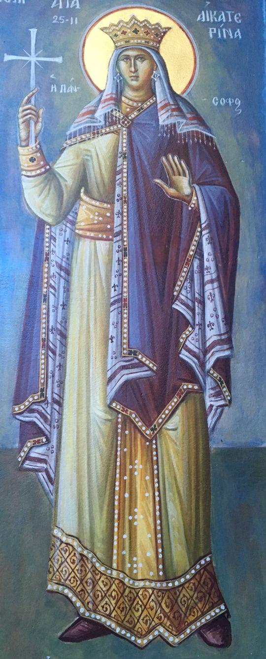 Η Αγία Αικατερίνη (ΚΤ) φωτό (ΚΤ)