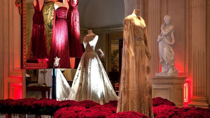 Elie Saab Exhibition George V Hotel Paris