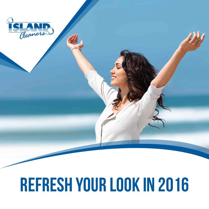 Refresh your look in 2016 #IslandCleaners #CaymanIslands #HappyNewYear