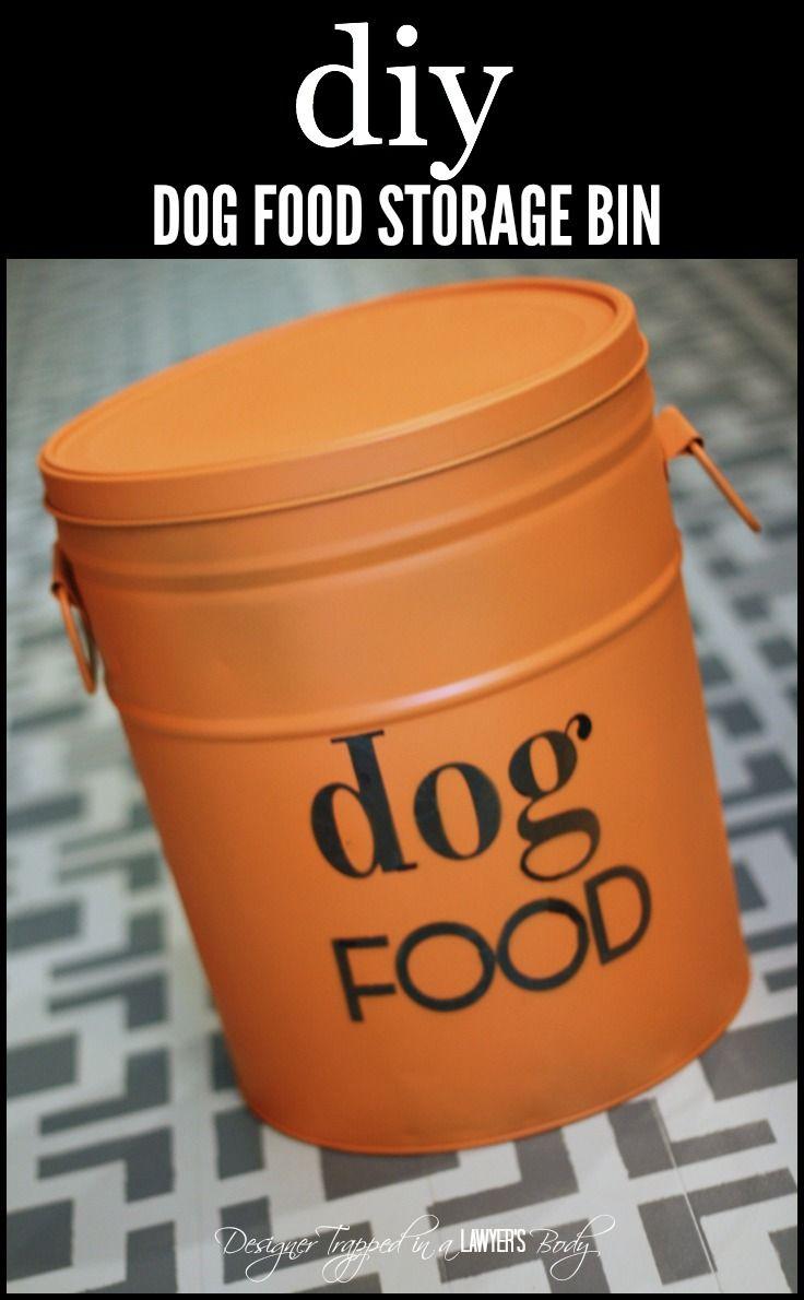 Diy Storage Container Ideas Best 20 Dog Food Bin Ideas On Pinterest Rustic Kitchen Trash
