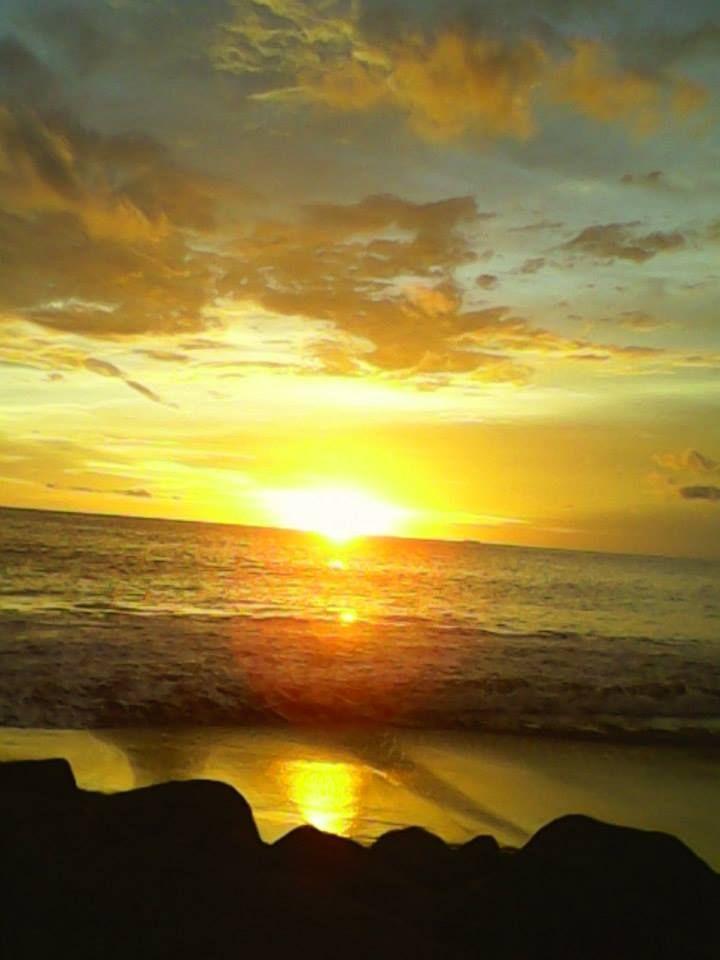 Padang Beach sunset