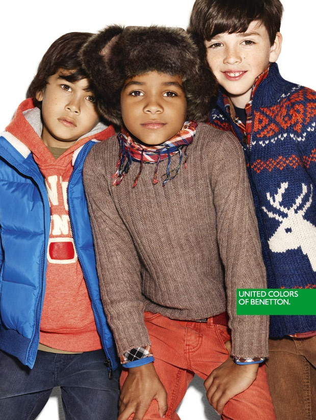 36 best campaign kids fall winter 2016 17 images on pinterest for Benetton we are colors