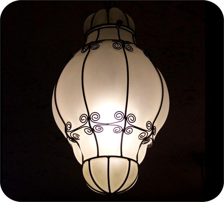 Wrought Iron Lamp @ Mozaik  http://www.budapestwithus.hu/blogger-kerekasztal/