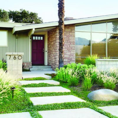Budget-friendly curb appeal - 50+ Landscaping Ideas with Stone - Sunset