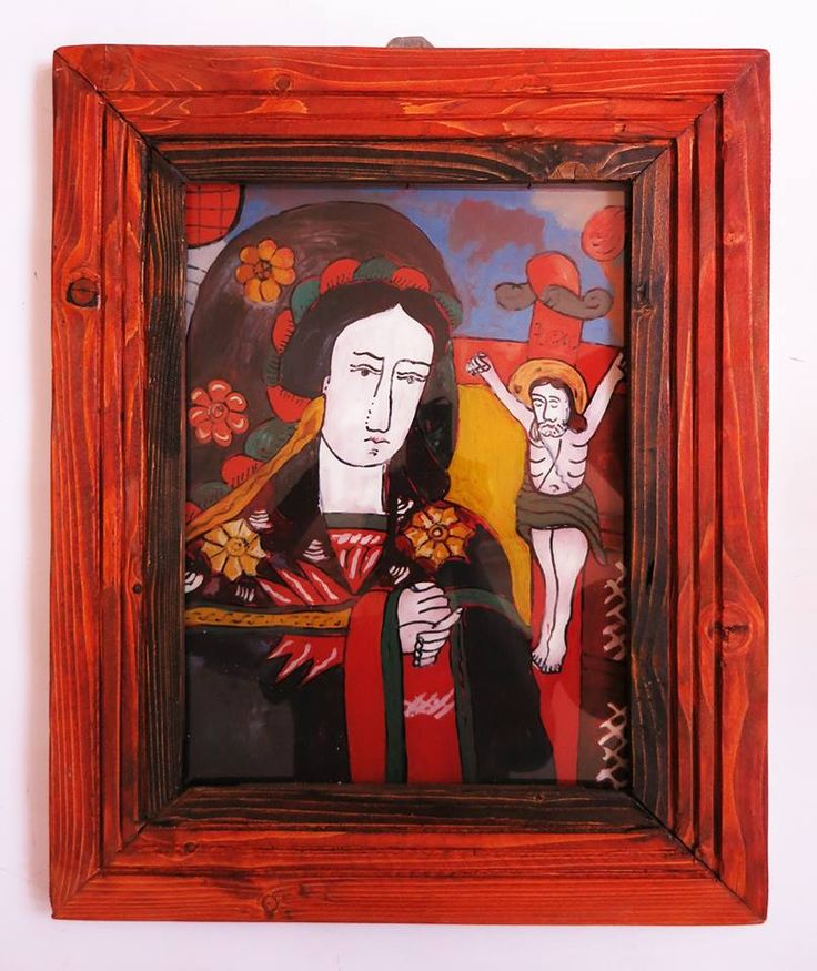 Romanian traditional icon on glass painted by Gabriel Manole -'Icoane pe sticla - comenzi   la numerele de telefon: 0752 170 124 sau 0752 263 889.   https://www.facebook.com/gabriel.manole.90/media_set?set=a.789955481122700.1073741825.100003247673514&type=3&pnref=story