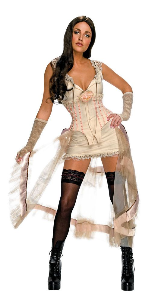 Lilah Jonah Hex Victorian Steampunk Megan Fox Dress Halloween Sexy Adult Costume #Rubies #CompleteCostume