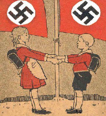 Hitler youth ad. Basically, the youth had no choice..sad to say