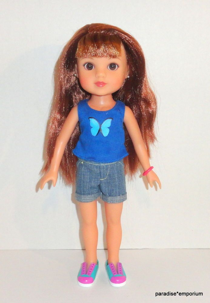 Hearts for Hearts Girls Doll Zelia from Brazil Clothes Shoes 2010 Playmates