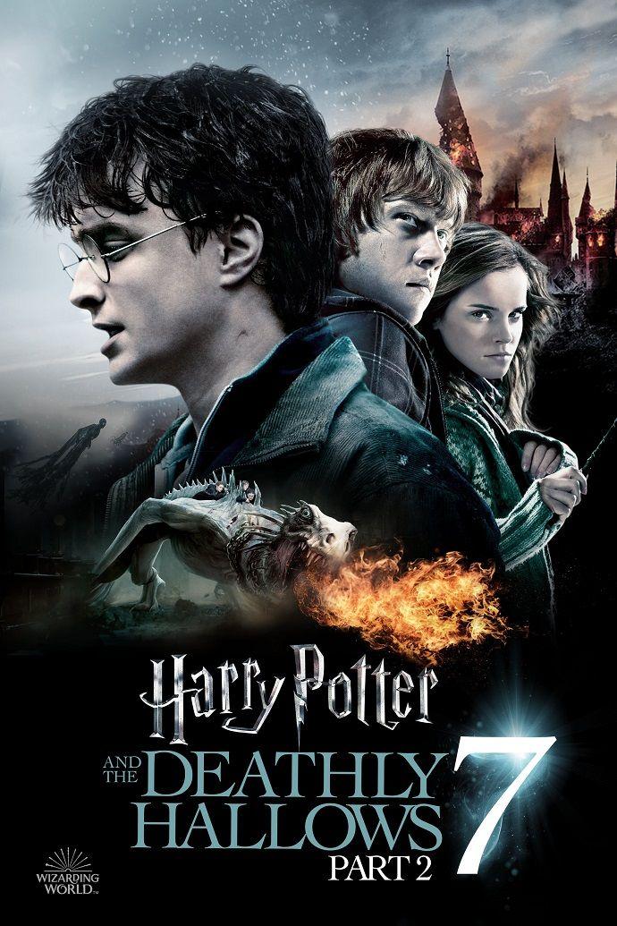 Harry Potter 8 Harry Potter Ve Olum Yadigarlari Bolum 2 The Deathly Hallows Part 2 Deathly Hallows Harry Potter Daniel Radcliffe