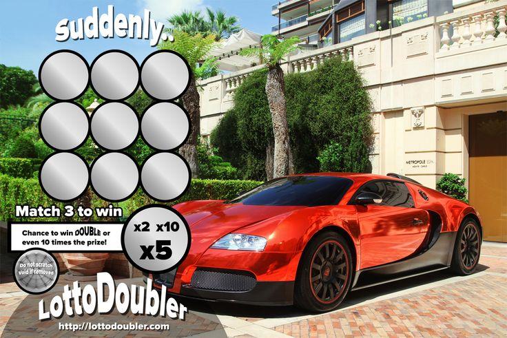 Suddenly.. Bugatti Veyron in Monaco | Lottodoubler instant lottery
