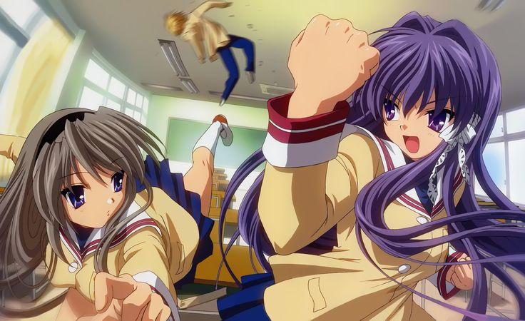 Tomoyo, Kyou, and Sunohara ♥