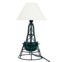 Lampe balise marine Tribord verte