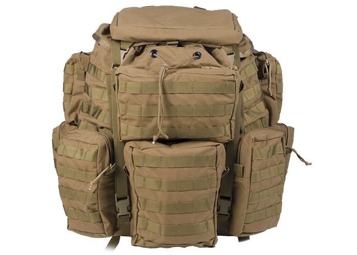 Tactical Assault Gear Jumpable Recon Ruck Pack, Coyote Tan