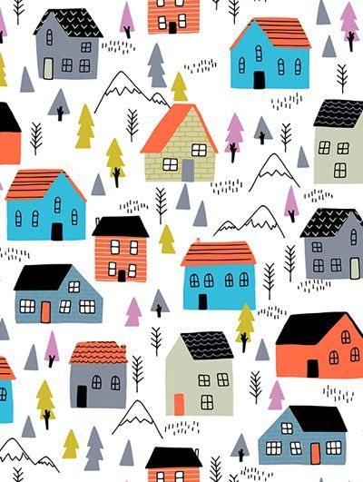 DESIGN STUDIO   see creatures  House IllustrationDesign IllustrationsPrint  Pattern. 592 best Pretty Patterns images on Pinterest   Bananas and Chiffon