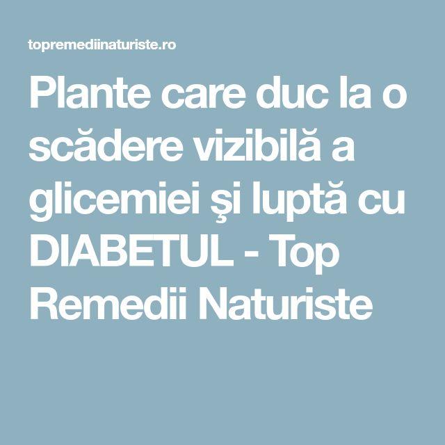 Plante care duc la o scădere vizibilă a glicemiei şi luptă cu DIABETUL - Top Remedii Naturiste