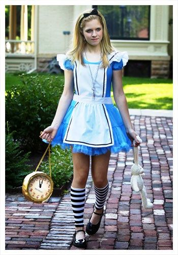 Our teen tutu Alice costume is an exclusive teen Alice in Wonderland costume you won't find anywhere else. Get this teen Alice costume for Halloween.
