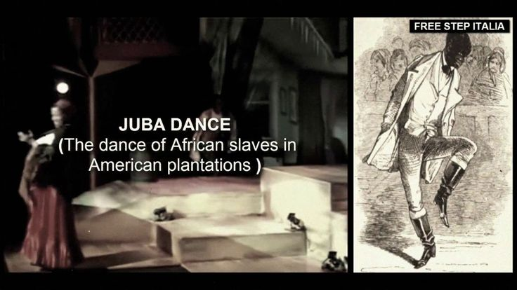 JUBA DANCE: The dance of African slaves in American plantations