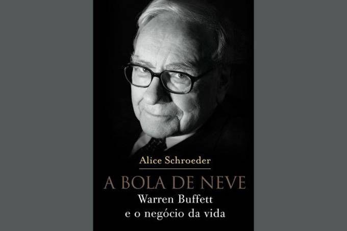 """Livro """"A bola de neve"""", sobre Warren Buffett"""