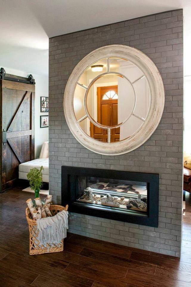 I Love The Mirror U0026 The Fireplace.