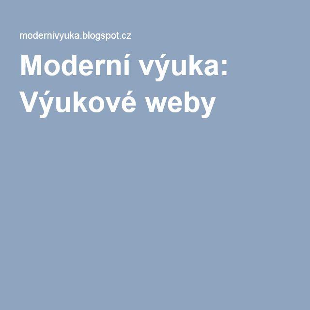 Moderní výuka: Výukové weby