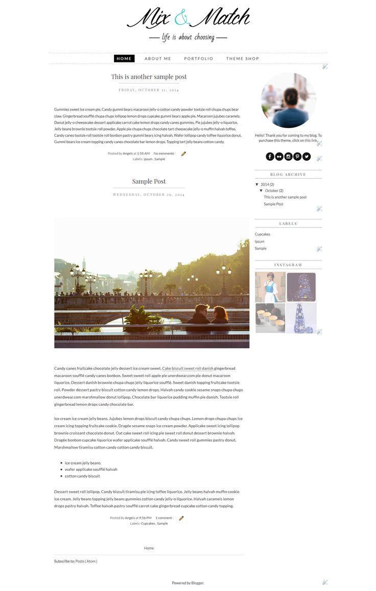 Beste Billige Blogger Vorlagen Fotos - Entry Level Resume Vorlagen ...