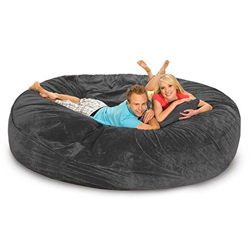 Relax Sack 8 ft. Microsuede Foam Bean Bag Sofa  http://www.bestdealstoys.com/relax-sack-8-ft-microsuede-foam-bean-bag-sofa-3/