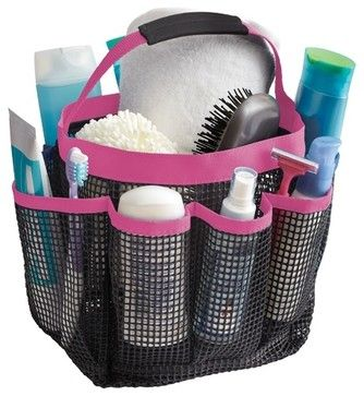 Kangaroom Mesh Bath Tote traditional-shower-caddies