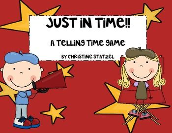 Freebie!!! A Telling Time Game!