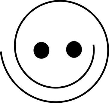 Buźka, Szczęśliwy, Uśmiech, Twarz