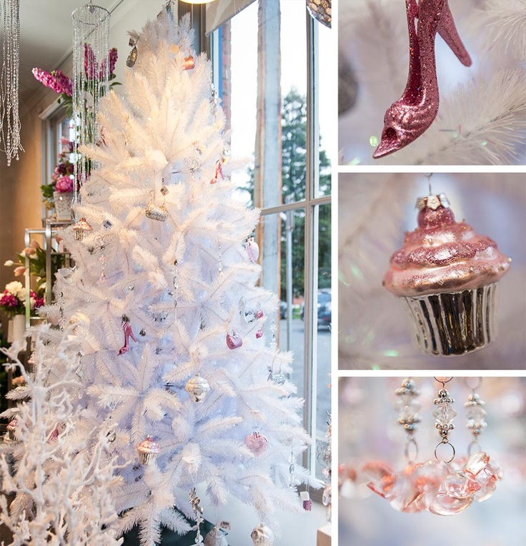 Pink and White Christmas at Design Inn, Launceston