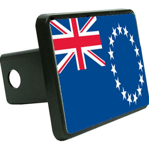 Cook-Islands Flag Trailer Hitch Cover