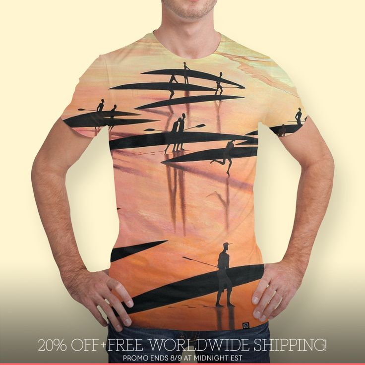 Discover «09_ASTALAVISTA_50x100 - копия», Limited Edition Men's All Over T-Shirt by Tatyana Binovska - From $49 - Curioos