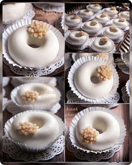 kaak-glacés (gâteau algérien)