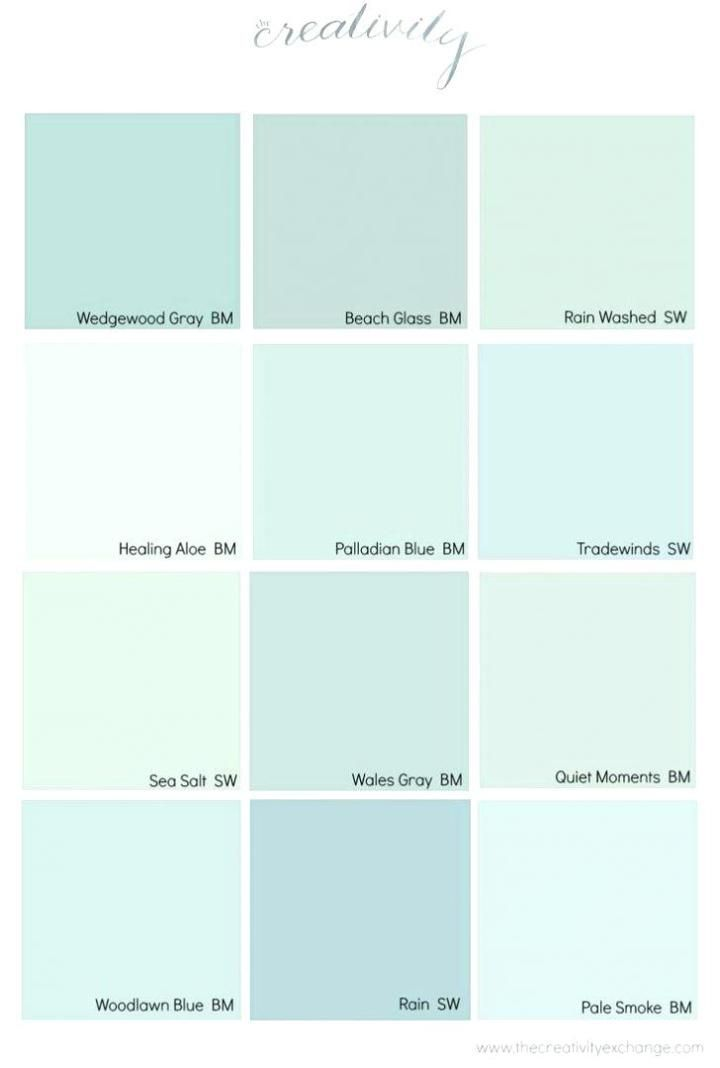 Coastal Paint Color Schemes Inspired From The Beach With Images