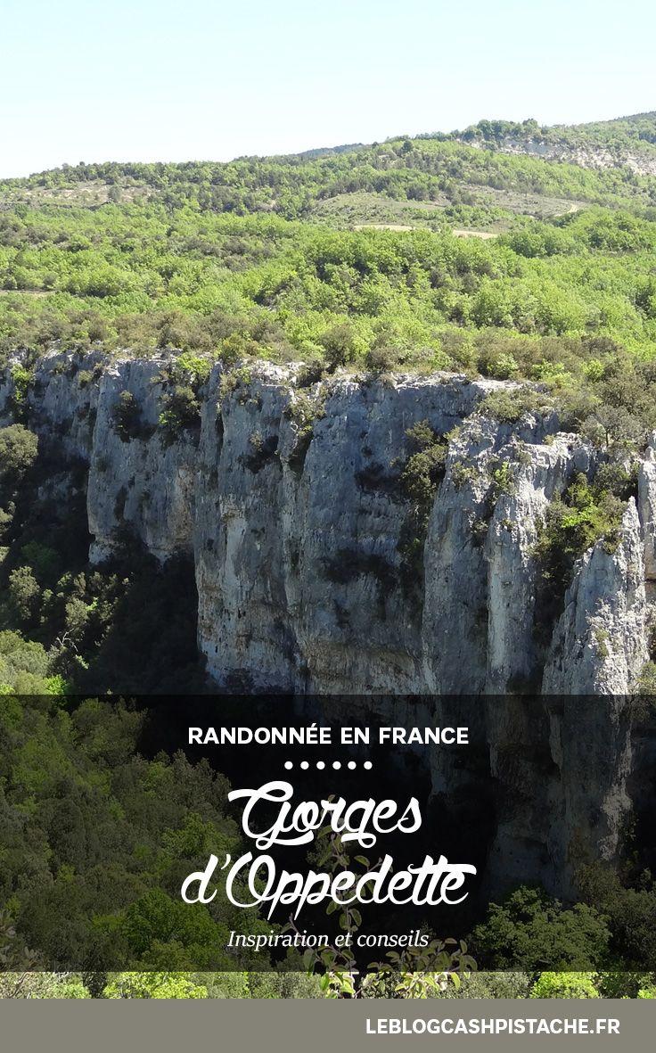 La plus belle randonnée Luberon Gorges d Oppedette Entre deux petits  villages typiques de Provence, une randonnée originale !  France  travelblog bda2cefde64