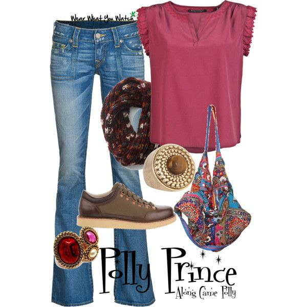 Inspired by Jennifer Aniston's character Polly Prince in the 2004 romantic comedy Along Came Polly.