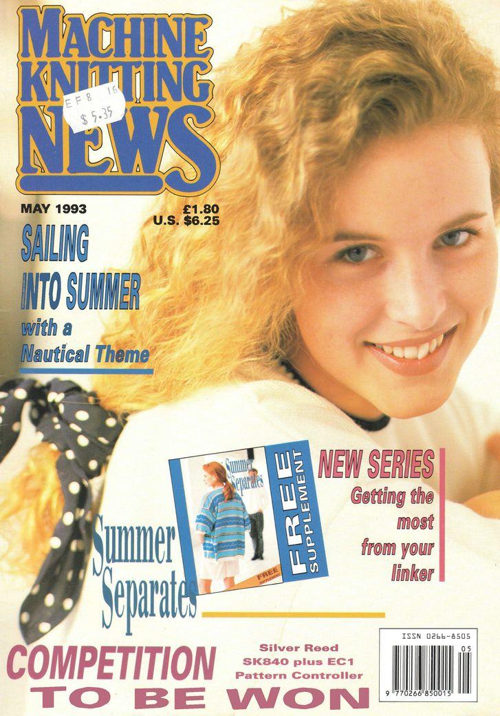 1000+ Images About Machine Knitting News Magazine On