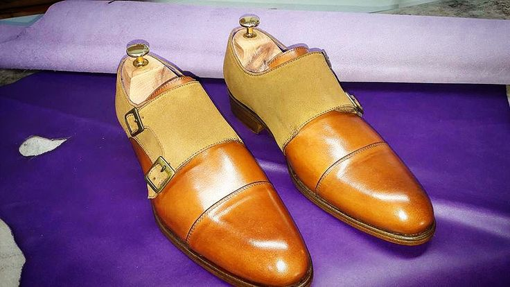 Double monk shoes by Art'Sartorial