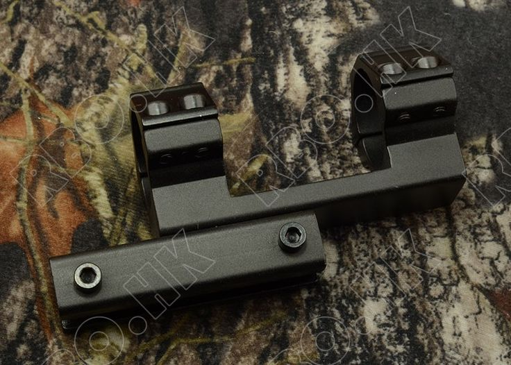 소총 범위 25.4 미리메터 1 인치 튜브 링 공기총 1 센치메터 레일 마운트 사냥 촬영 RBO