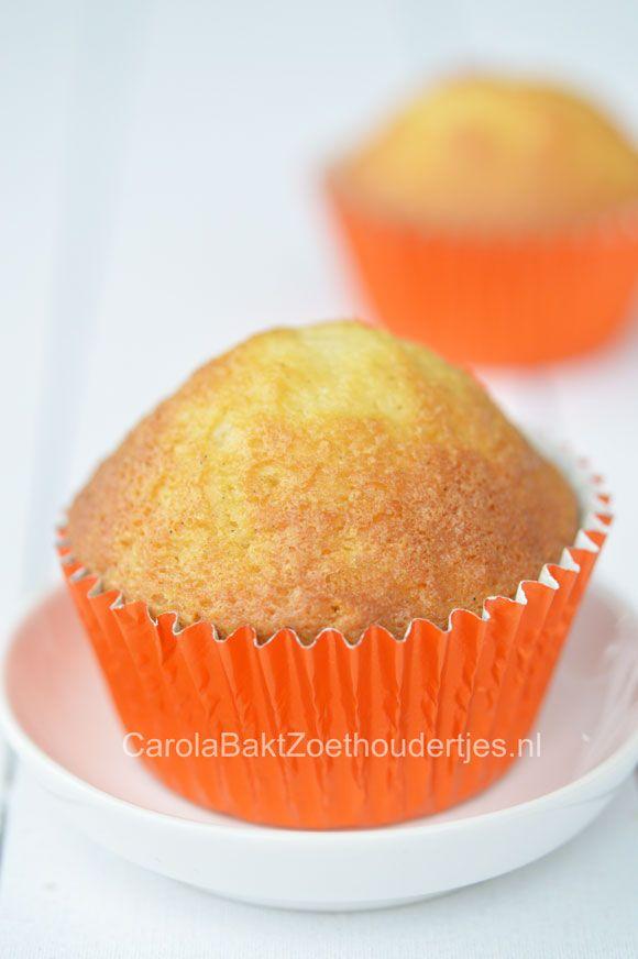 Basisrecept vanille cupcakes - Carola Bakt Zoethoudertjes