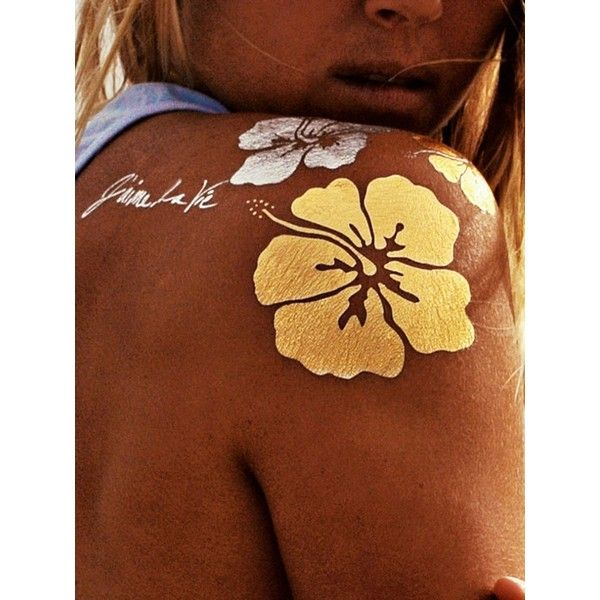 Choies Bohemian Temporary Tattoo Set ($4.99) ❤ liked on Polyvore featuring accessories, body art and multi