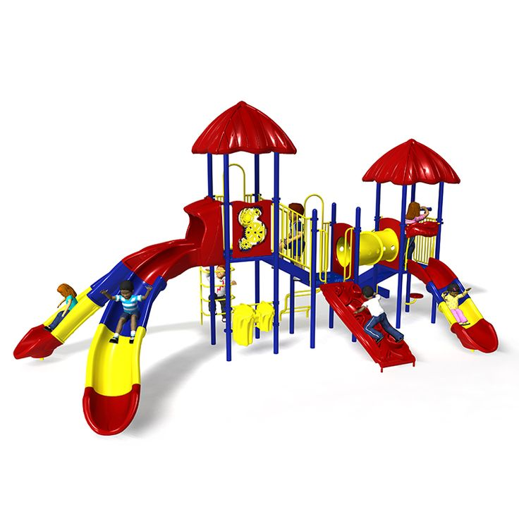 The Lollipop Lane is a fun and exciting play structure that has multiple slides, climbers and play events that will keep kids thrilled and challenged.